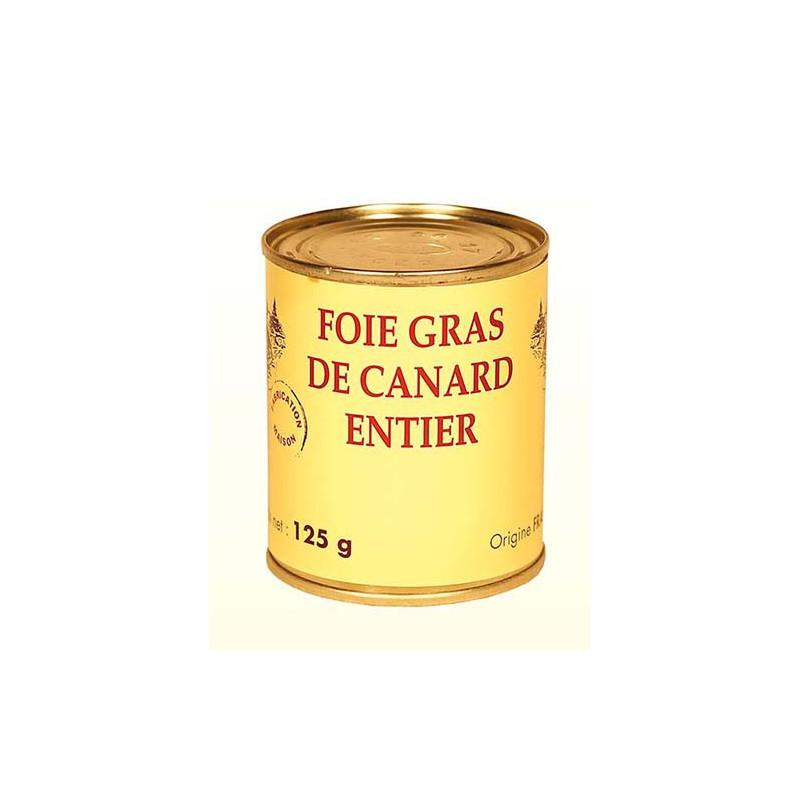 Foie Gras de Canard Entier - boîte - Origine France