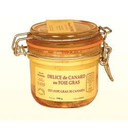 Délice de Canard au Foie Gras