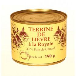 Terrine de Lièvre à la Royale